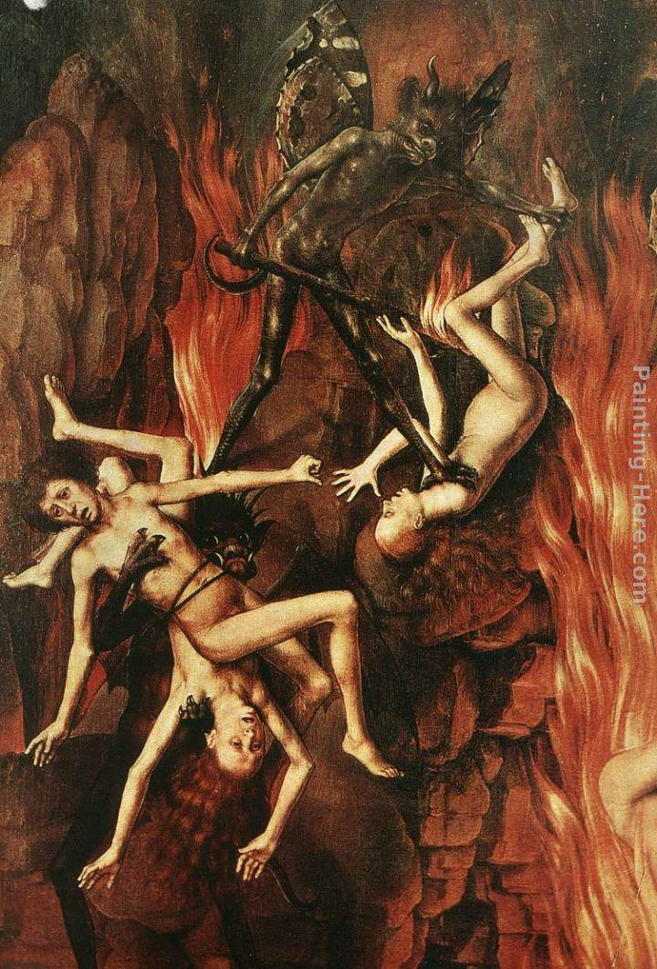 Hans Memling Last Judgment Triptych [detail 12]
